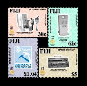 fiji 2016 stamps